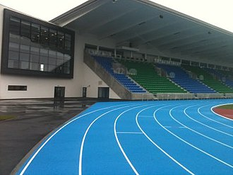 Scotstoun Stadium - Image: Main Stand 3