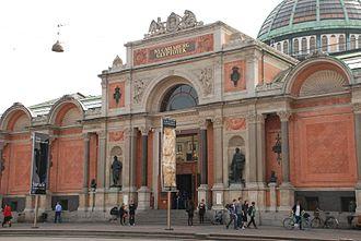 Ny Carlsberg Glyptotek - Image: Main entrance, Ny Carlsberg Glyptotek