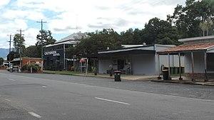 Finch Hatton, Queensland - Main street, 2016
