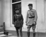 Major Georges Thenault and Captain Rene Fonck French Embassy, Wash DC 29Oct1925.png