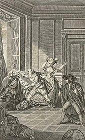 Malapeau nach Saint-Quentin: Le mariage de Figaro, 1. Akt, Szene 9 (1785) (Quelle: Wikimedia)