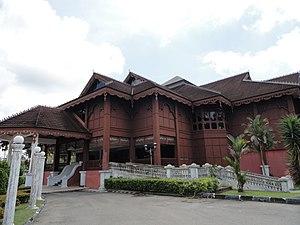 Perakian Malay people - Traditional Malay house in Perak, Malaysia.
