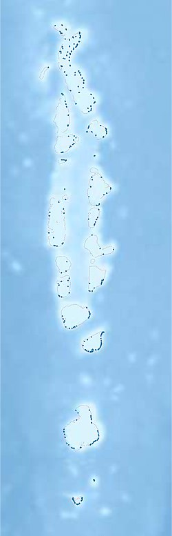 Kudahuvadhoo is located in Maldives