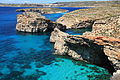 Malta - Ghajnsielem - Comino + Large Blue Lagoon Rock + Small Blue Lagoon Rock + Cominotto + Blue Lagoon 02 ies.jpg