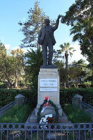 Paul Xuereb - Memorial to Paul Xuereb