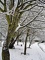 Mangotsfield Station, Winter 2010 - panoramio.jpg