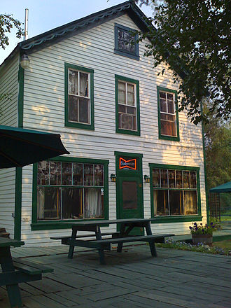 Manley Hot Springs, Alaska - Manley Roadhouse was built in 1903 and still serves the community as its only restaurant and hotel