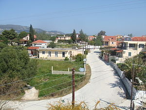 Mantzavinata - Mantzavinata from Hagia Sophia church