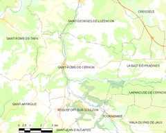 Map commune FR insee code 12243.png