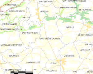 Map commune FR insee code 14618.png