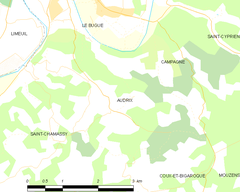 Map commune FR insee code 24015.png