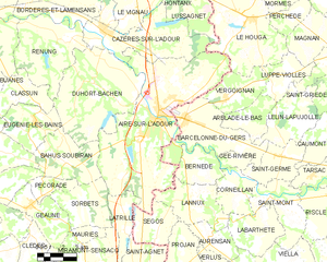 Map commune FR insee code 40001.png