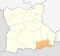 Map of Hadzhidimovo municipality (Blagoevgrad Province).png