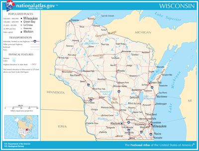 TemplateLocation Map USA Wisconsindoc Wikipedia - Wisconsin map usa