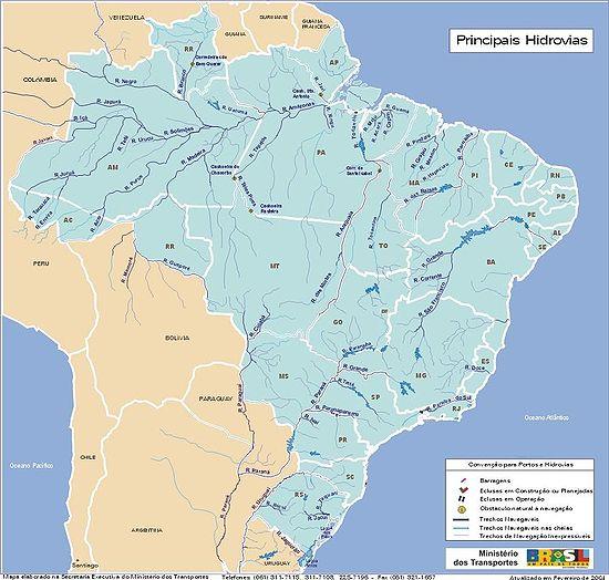 kart over andesfjellene Liste over elver i Brasil – Wikipedia kart over andesfjellene