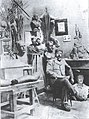 Marazzani en su taller-Lima ca. 1910.jpg