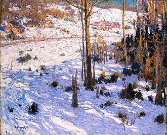 Marc-Aurèle de Foy Suzor-Coté - Image: Marc Aurèle de Foy Suzor Coté Settlement on the Hillside