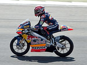 2010 Grand Prix motorcycle racing season - Image: Marc Marquez 2010 Assen
