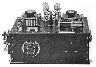 Fleming valve - Valve receiver made by Marconi Co. has two Fleming valves, in case one burns out