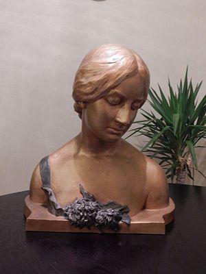 Marie-Antoinette Demagnez - Image: Marie Antoinette Demagnez bronze bust