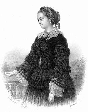 Marie Cabel - Marie Cabel in 1855