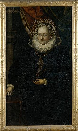 Marie Eleonore of Cleves - Image: Marie Eleonore von Jülich Kleve Berg (1550 1608), Herzogin von Preußen c.1600