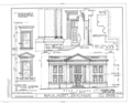 Marin County Courthouse, Fourth Street between A and Court Streets, San Rafael, Marin County, CA HABS CAL,21-SANRA,2- (sheet 6 of 8).png