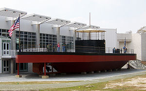Mariners' Museum - New replica of USS Monitor, dedicated March 9th, 2007