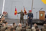 Marines receive a ship safety brief 150312-M-CX588-036.jpg