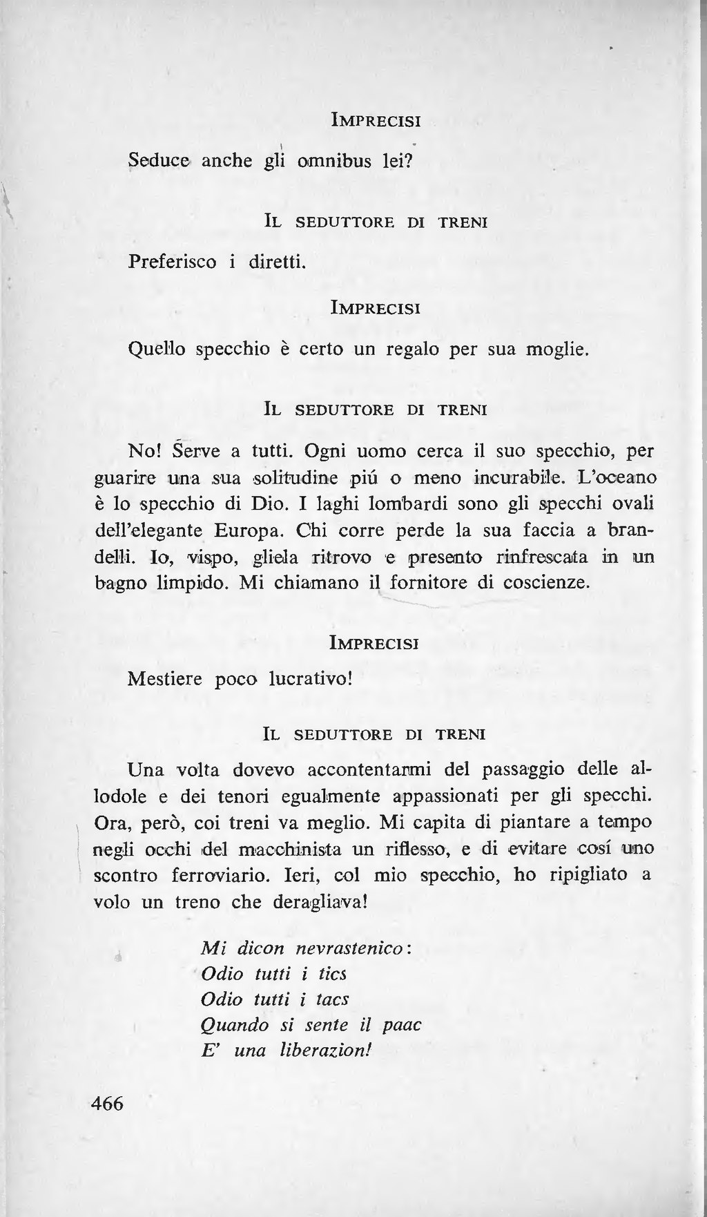 Pagina marinetti wikisource - Specchi per allodole ...