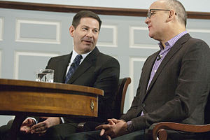 With All Due Respect (TV series) - Hosts Mark Halperin and John Heilemann in 2012