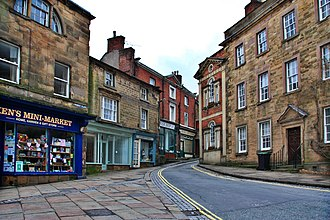 Wirksworth - Image: Market Place, Wirksworth geograph.org.uk 1731474
