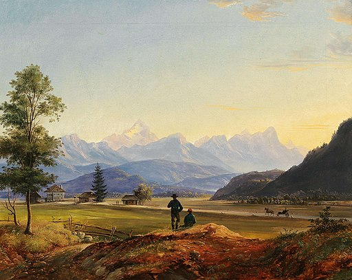 Markus Pernhart - A view of Triglav and Mittagskogel