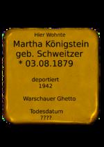 Martha Königstein