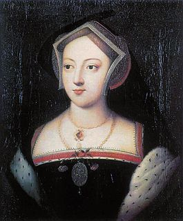 sister of English queen Anne Boleyn