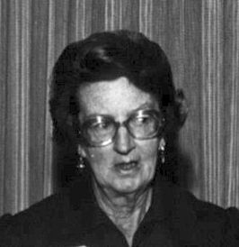 Mary Leakey in 1977.