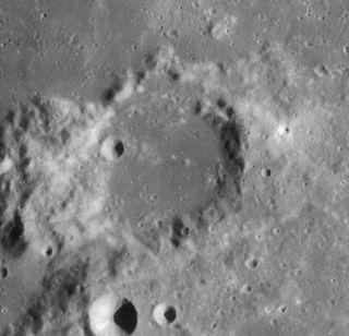 Mason (crater) impact crater