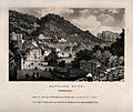 Matlock Baths, Derbyshire. Lithograph by J.D. Harding after Wellcome V0013940.jpg