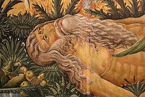 Matteo da Gualdo - Detail of a Tree of Life in the Museo Civico di Gualdo Tadino