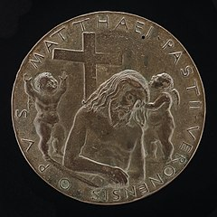 Christ in the Tomb [reverse]