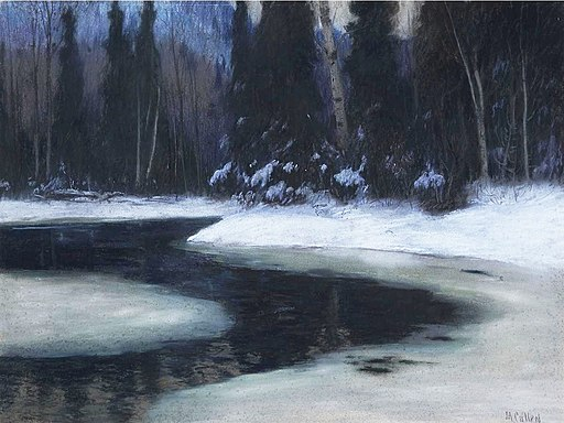 Maurice Galbraith Cullen - The North River (1921)