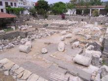 V současnosti jsou na jeho místě archeologické vykopávky a muzeum.
