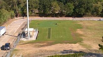 Maverick Stadium - The Mavericks new putting green, just north of the Gilstrap Athletic Center