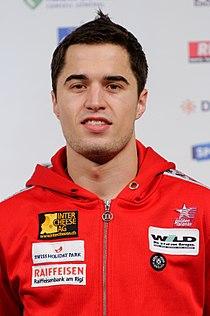 Max Heinzer podium Masters epee 2012.jpg
