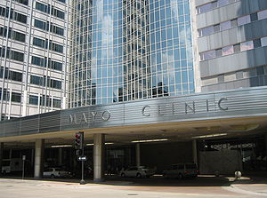 English: Mayo Clinic Rochester Minnesota - Gon...