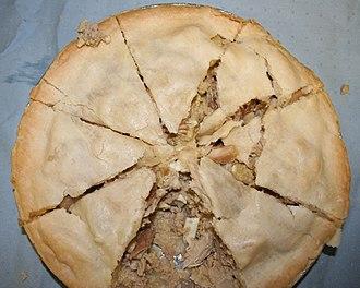 Meat pie - Chicken and rabbit meat pie
