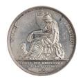 Medalj, Svenska Akademien, 1818 - Skoklosters slott - 110793.tif