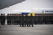 Meeting Bodies of Ukrainian Citizens from PS752 in Boryspil International Airport 19.jpg