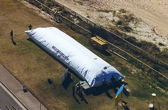 Geotextile - Image: Mega sand container