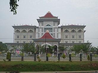 Sharia - Shariah Court in Malacca, Malaysia.